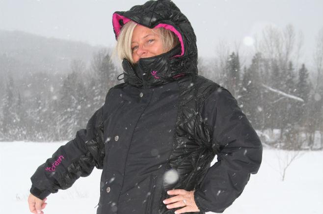 Manteau de ski pour femme