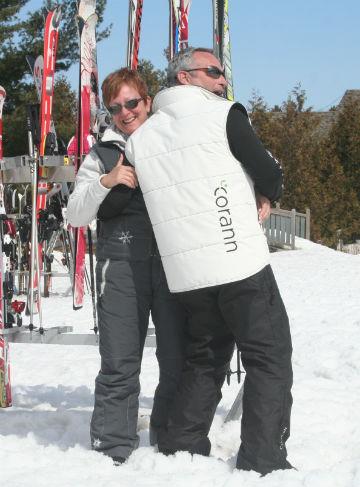 veste pour ski de printemps